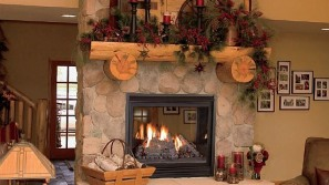 Trimont See-Thru/Pier gas direct vent fireplace