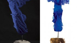 Most expensive luxury glass sculpture inspired by Yves Klein's work up for grabs at Harrods