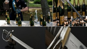 Henry Tuke launches the world's most expensive Champagne sabre