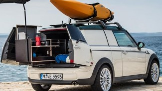 Mini Launches the Smallest Luxury Camper in the World