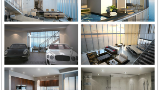 Porsche Designed Luxury Miami Condo Tower with Personal Car Elevator