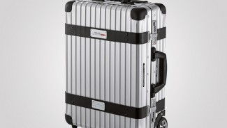 A Luxury Trolley Bag from Porsche worth $1,775