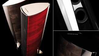 Sonus Faber introduces the $120k Aida speakers as specimens of Italian acoustic craftsmanship