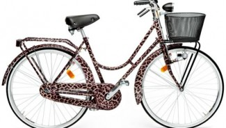 Dolce and Gabbana animal print bicycle