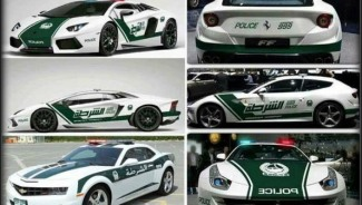Dubai Police Fleet of Supercars