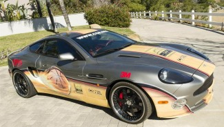 Michael Jordan signed Aston Martin up for auction at $1.25 Million