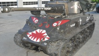 Military tanks up for auction in United States
