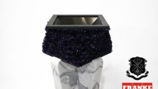 Custom Artisan Amethyst Sink by Jake Levy is for the luxury dream kitchen