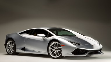 The Huracán! Lamborghini's newest model