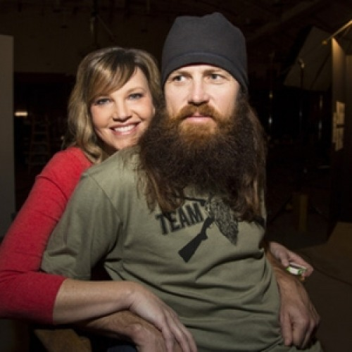 Jase Robertson and wife Missy