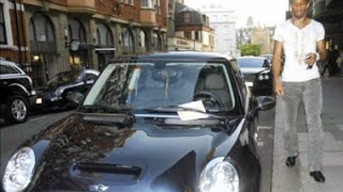 photo of Didier Drogba Mini Cooper S - car