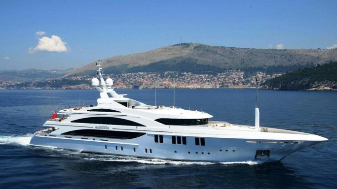 Andrea L, the Ferrari on the Seas available for private cruise!