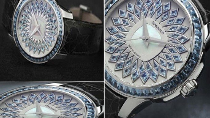 Ateliers deMonaco first ladies watches is inspired by the Princess of Monaco