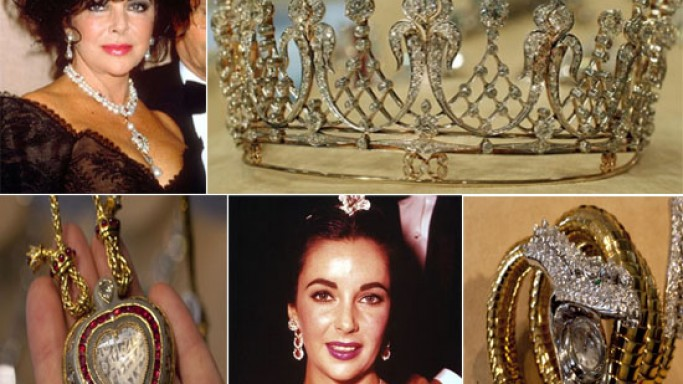 Elizabeth Taylor's jewelry goes on sale