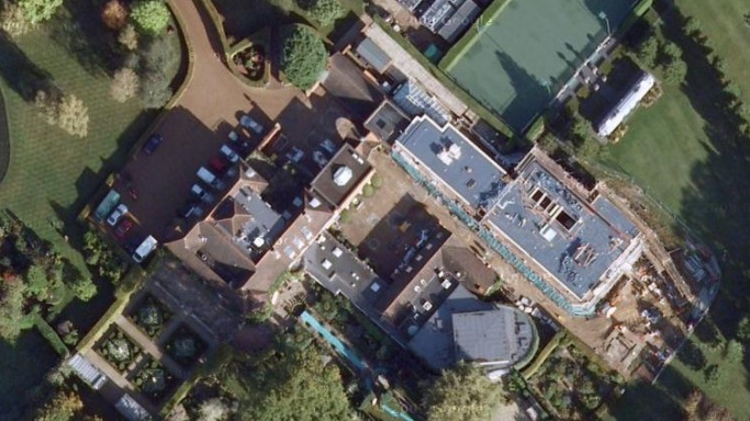 The satellite view