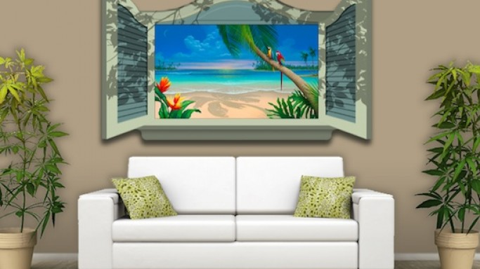Art Motion TV art frames are perfect for ever decor