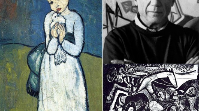 Rare Picasso paintings go on auction