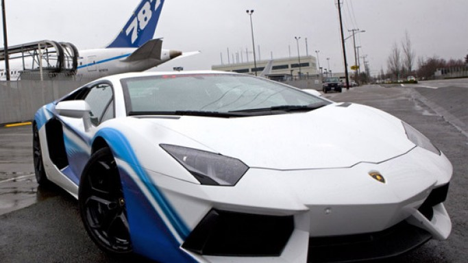 Boeing 787 inspired Lamborghini Aventador LP 700-4 is world's ugliest Lamborghini