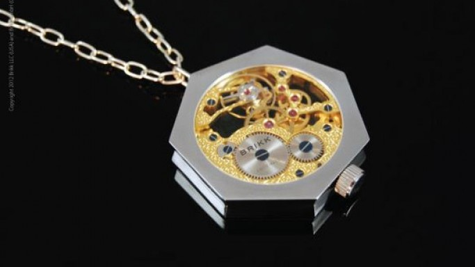 World's first horological jewelry by Brikk