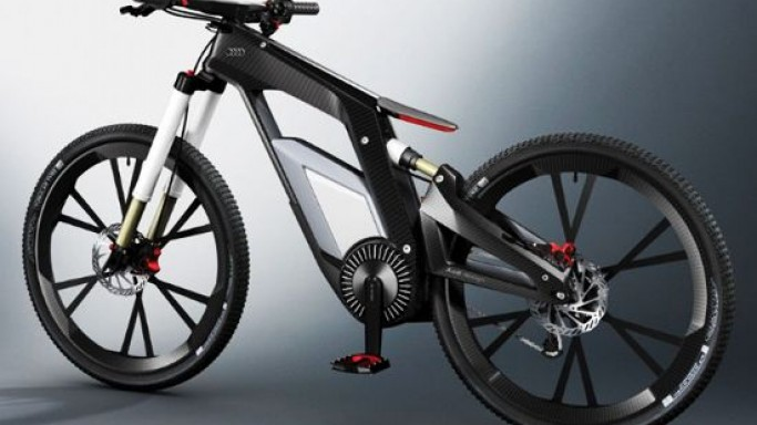 Audi e-bike boasts on-board computer with touchscreen display