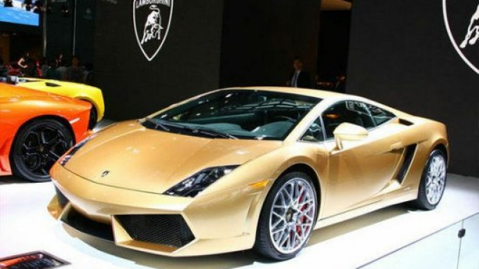 Lamborghini Gallardo LP560-4 Gold Edition debuts for the Chinese market