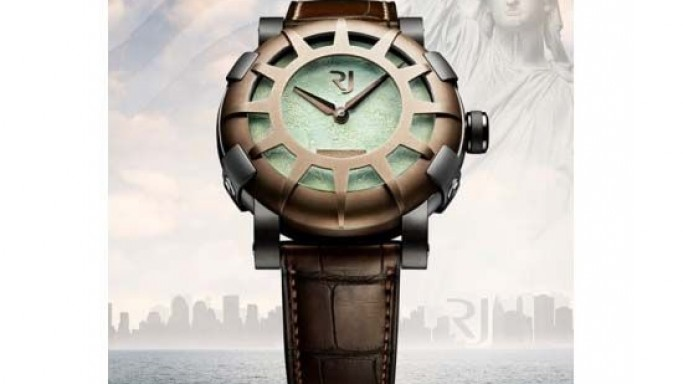 Liberty Enlightening RJ-Romain Jerome watch celebrates the Declaration of Independence