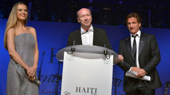 Clint Eastwood supports the program, 2012, In 2012 Artists for Peace and Justice was honored to host Haiti: Carnival in Cannes