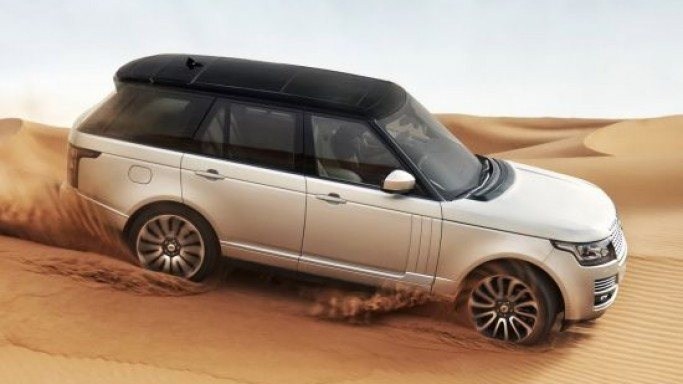2013 Range Rover is the world's first SUV with an all-aluminum unibody structure
