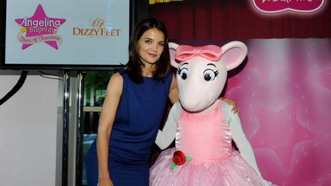 Katie Holmes at Dizzy Feet Foundation event