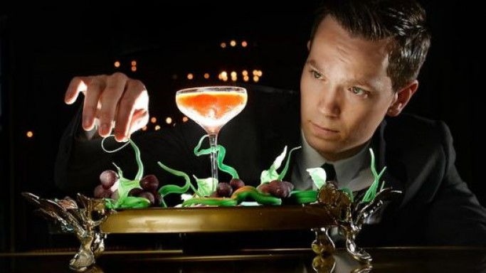 $12,500 cocktail 'Winston' made from 1858 Croizet cognac at Club 23 is expected to break the most expensive cocktail record