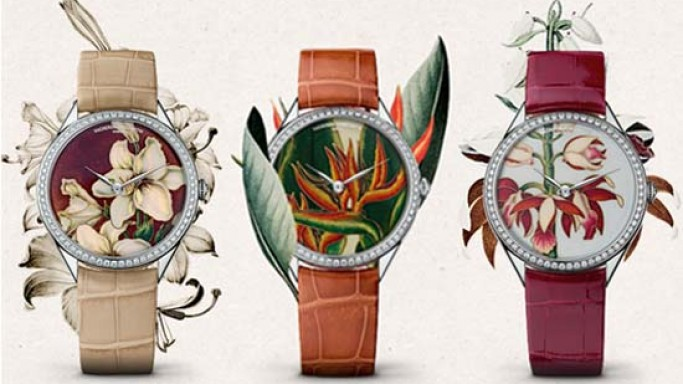 Vacheron Constantin's Métiers d'Art Florilège is a tribute to the delicacy of 18th Century botanical illustration in England