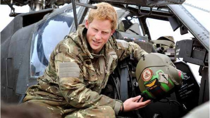 Prince Harry supports Help for Heroes