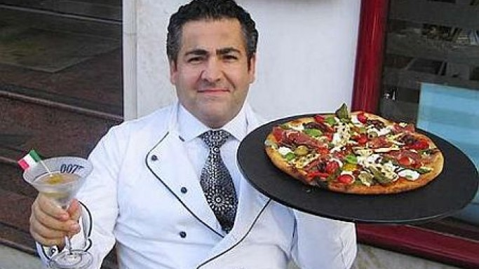 Most expensive Pizza Royale 007 even Bond would not resist