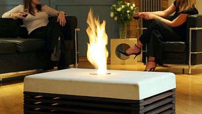 Indoor Fire Table