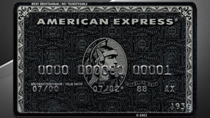 American Express Black Card – Mysterious, Exclusive, and Expensive