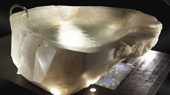 Baldi-Harrods continues their love affair with unique $790k crystal bathtub