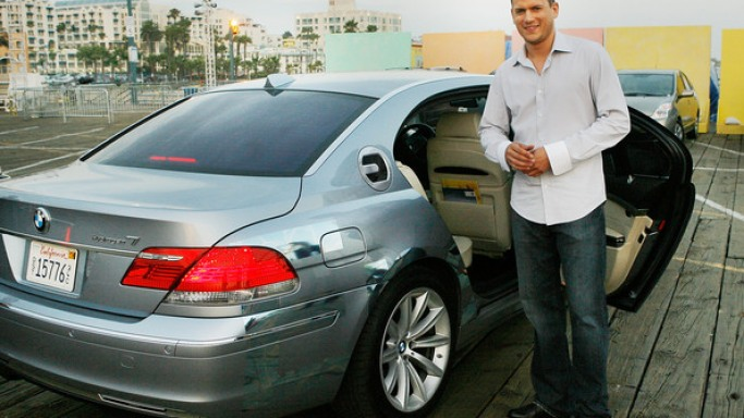 photo of Wentworth Miller BMW - car