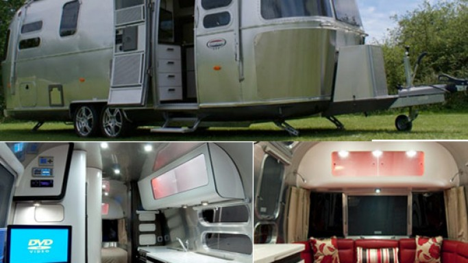 Next-gen Series 2 International 684 Caravan from Airstream with luxury amenities