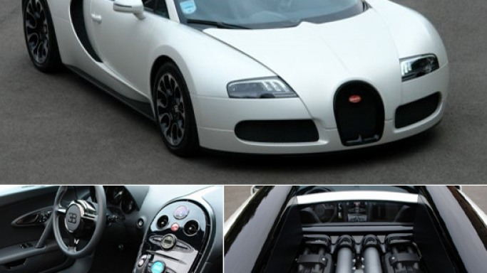 Bugatti Veyron 'Sang Blanc' special edition is up for grabs