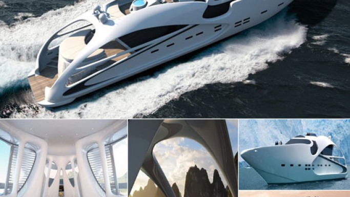 Tangram Audax 130 superyacht comes with modern sporty design