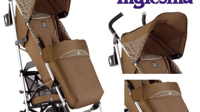 Fendi baby stroller for a fashionable start to a luxury lifestyle