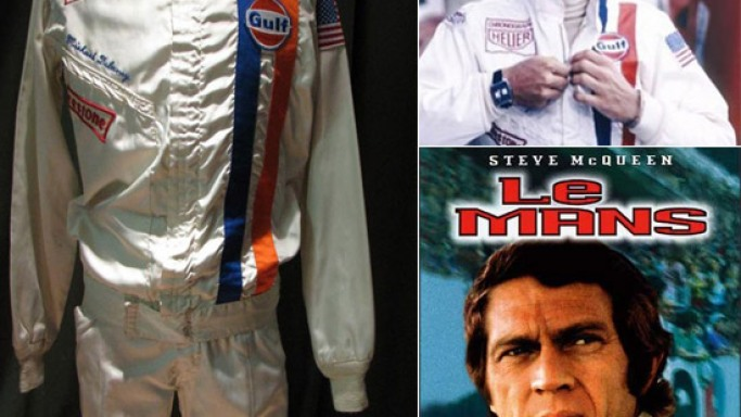 McQueen Le Mans Suit is the most expensive memorabilia in motor racing history at $984,000