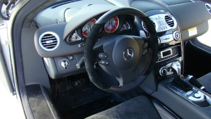 2007 SLR McLaren car - Color: Gray  // Description: delightful