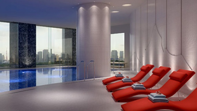 Palace Hotel Tokyo's First Evian Spa in Japan