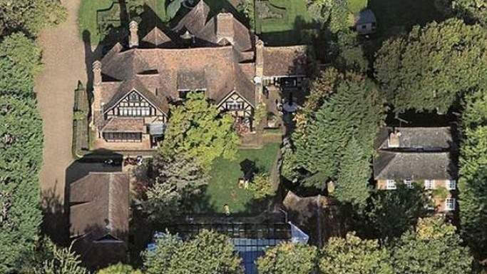 Angelina Jolie mansion in Richmond, West London