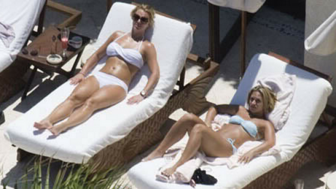 Britney Spears on vacations
