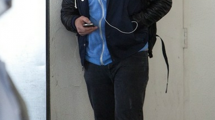 James Franco has been spotted listening to music on his Apple iPod Earphones quite frequently