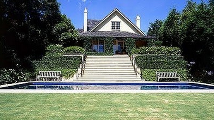 Russell Crowe and his wife Danielle Spencer's home