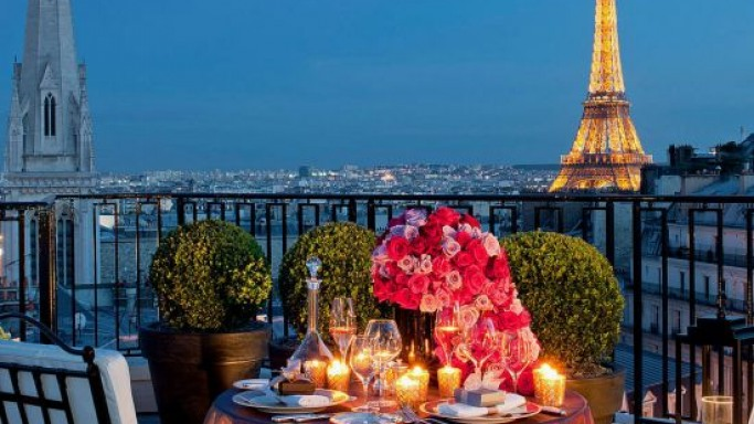 Four Seasons Hotel George V Paris new penthouse suite