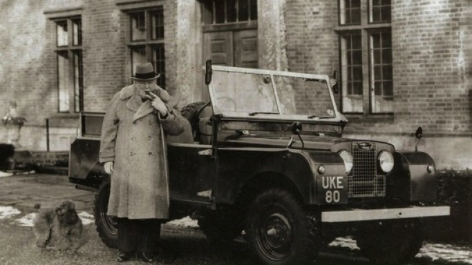Winston Churchill's Custom Land Rover up for auction